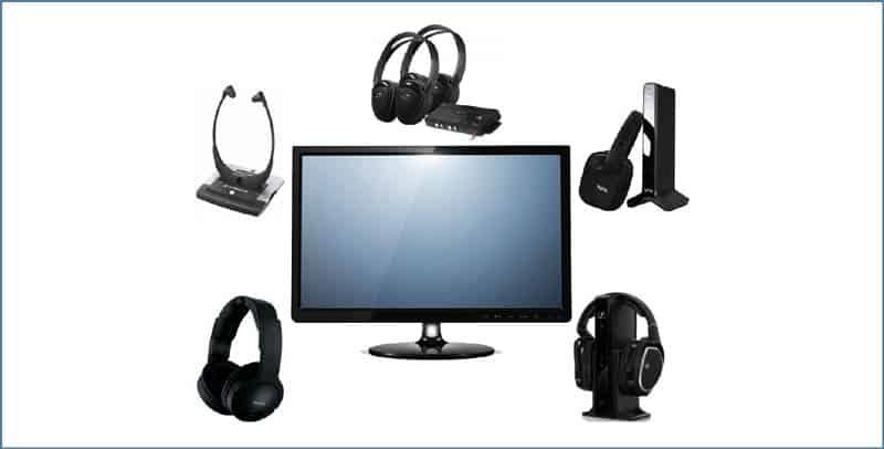 Wireless Headphones Use with TV
